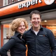 Jan en Lia Gardebroek van Expert Nijkerk