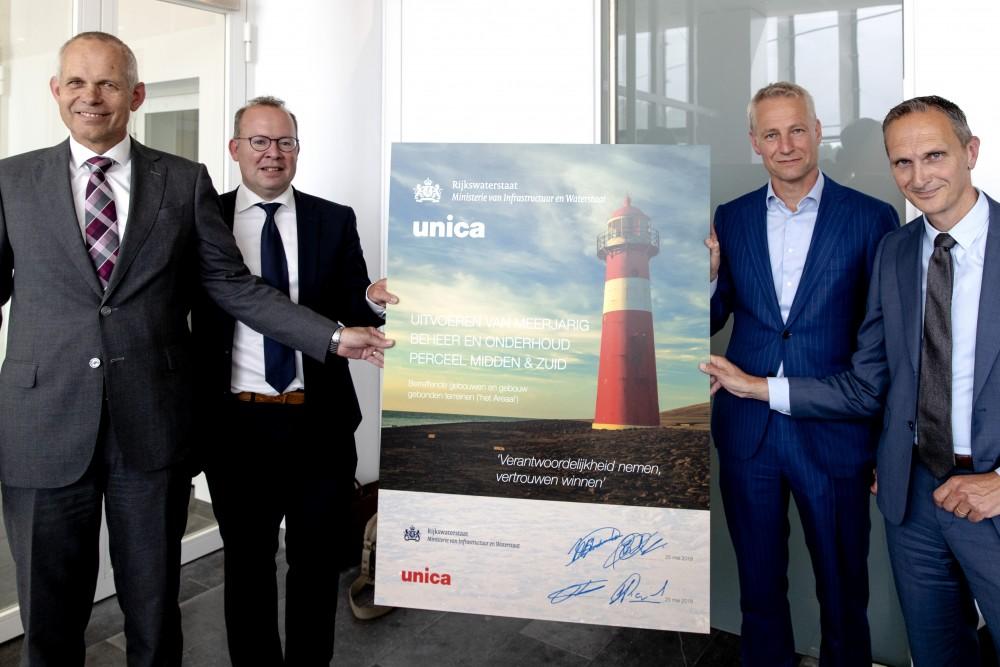 Contractondertekening Unica en Rijkswaterstaat_0